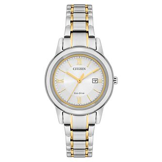 Citizen Eco-Drive Ladies' Two Tone Bracelet Watch - Product number 5276357