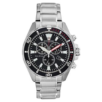 Citizen Eco-Drive Men's Stainless Steel Bracelet Watch - Product number 5276381