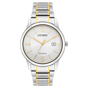 Citizen Eco-Drive Men's Two Tone Bracelet Watch - Product number 5276403