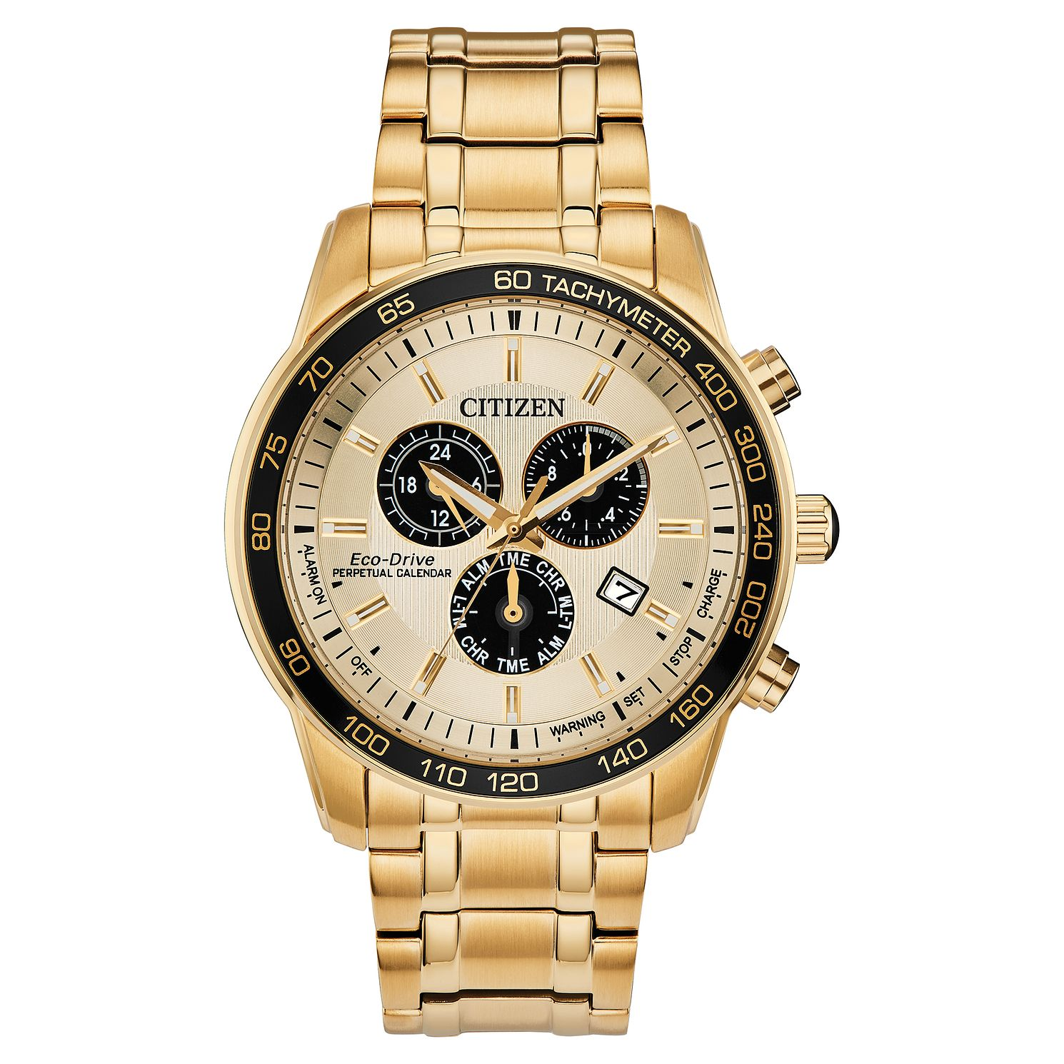 Citizen Eco-Drive Perpetual Calendar Men's Bracelet Watch - Product number 5276438