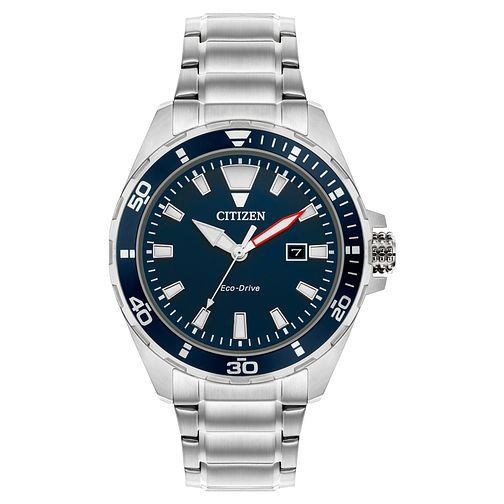 Citizen Eco-Drive Men's Stainless Steel Bracelet Watch - Product number 5276454