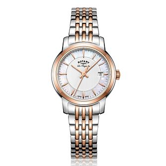 Rotary Ladies' Two Tone Strap Watch - Product number 5276810