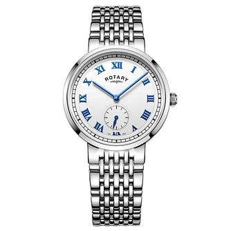 Rotary Gents Stainless Steel Bracelet Watch - Product number 5276861