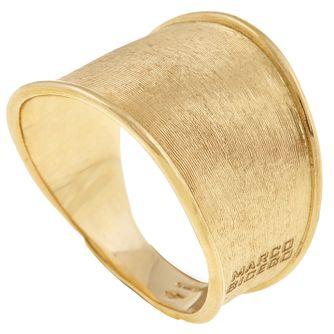 Marco Bicego 18ct Yellow Gold Lunaria Ring - Product number 5279437