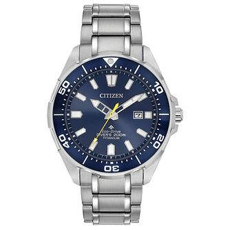 Citizen Promaster Men's Titanium Bracelet Watch - Product number 5281822