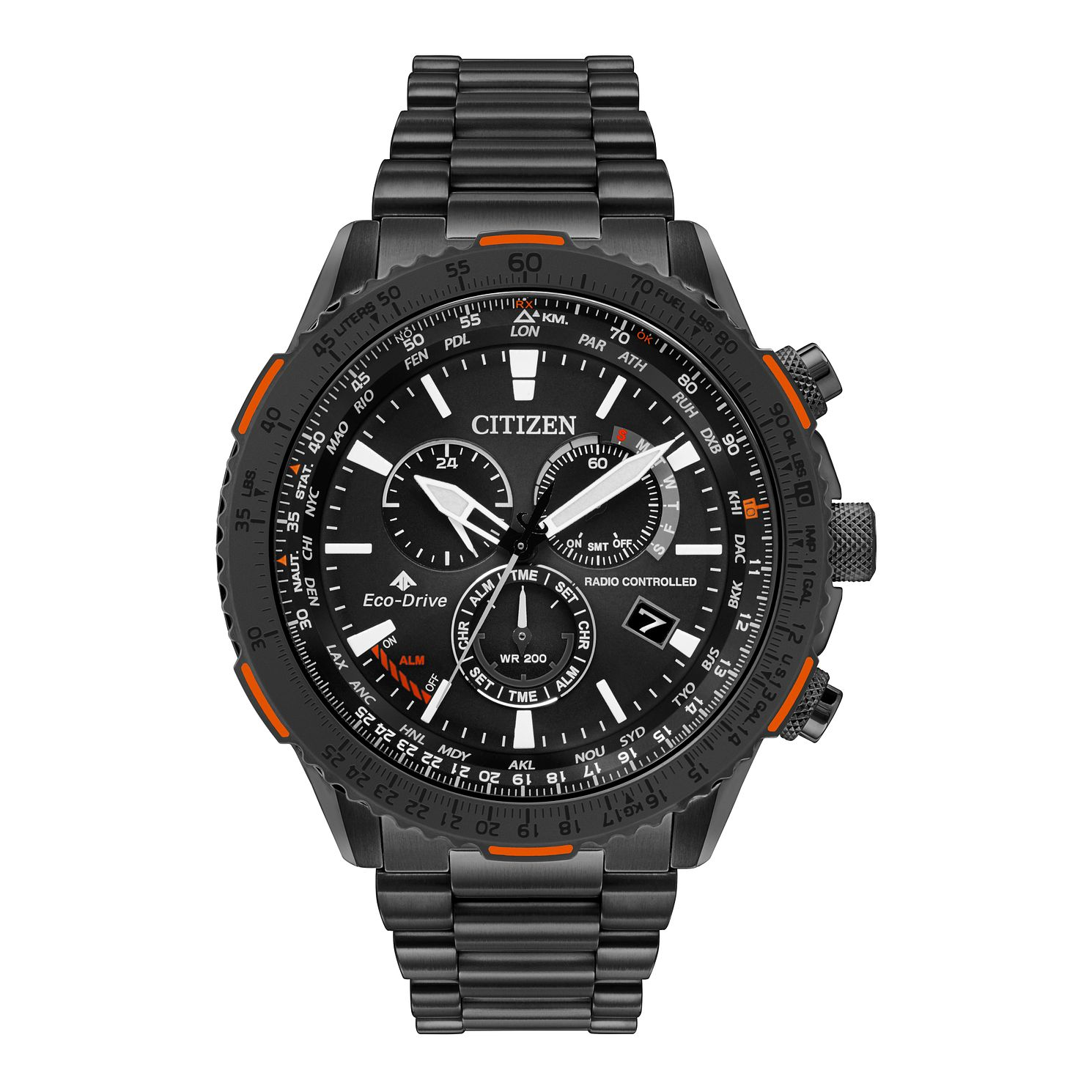 Citizen Eco-Drive Promaster Sky Men's Black Ip Watch - Product number 5281865