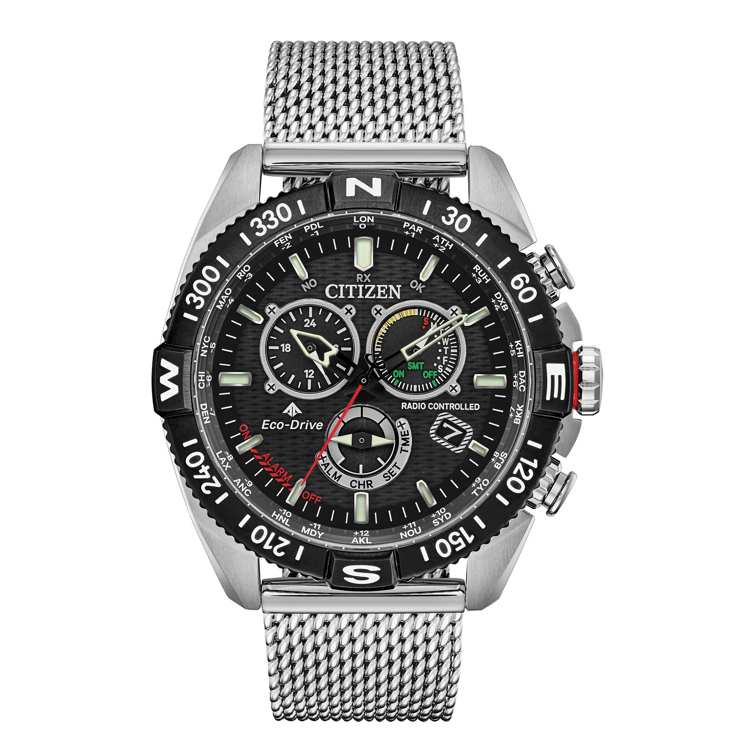 Citizen Eco-Drive Promaster Navihawk Men's Bracelet Watch - Product number 5281903