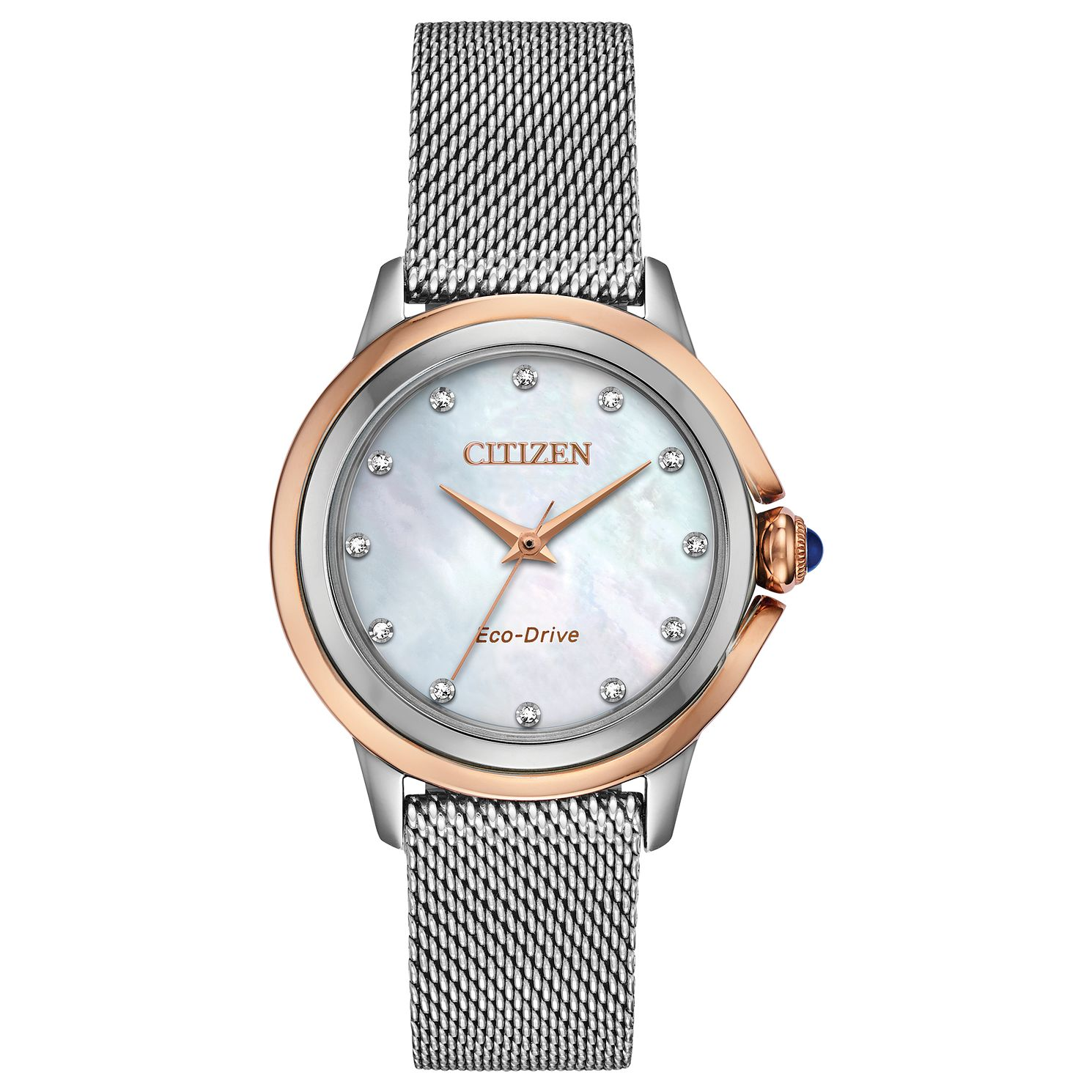 Citizen Diamond Ladies' Stainless Steel Mesh Bracelet Watch - Product number 5282136