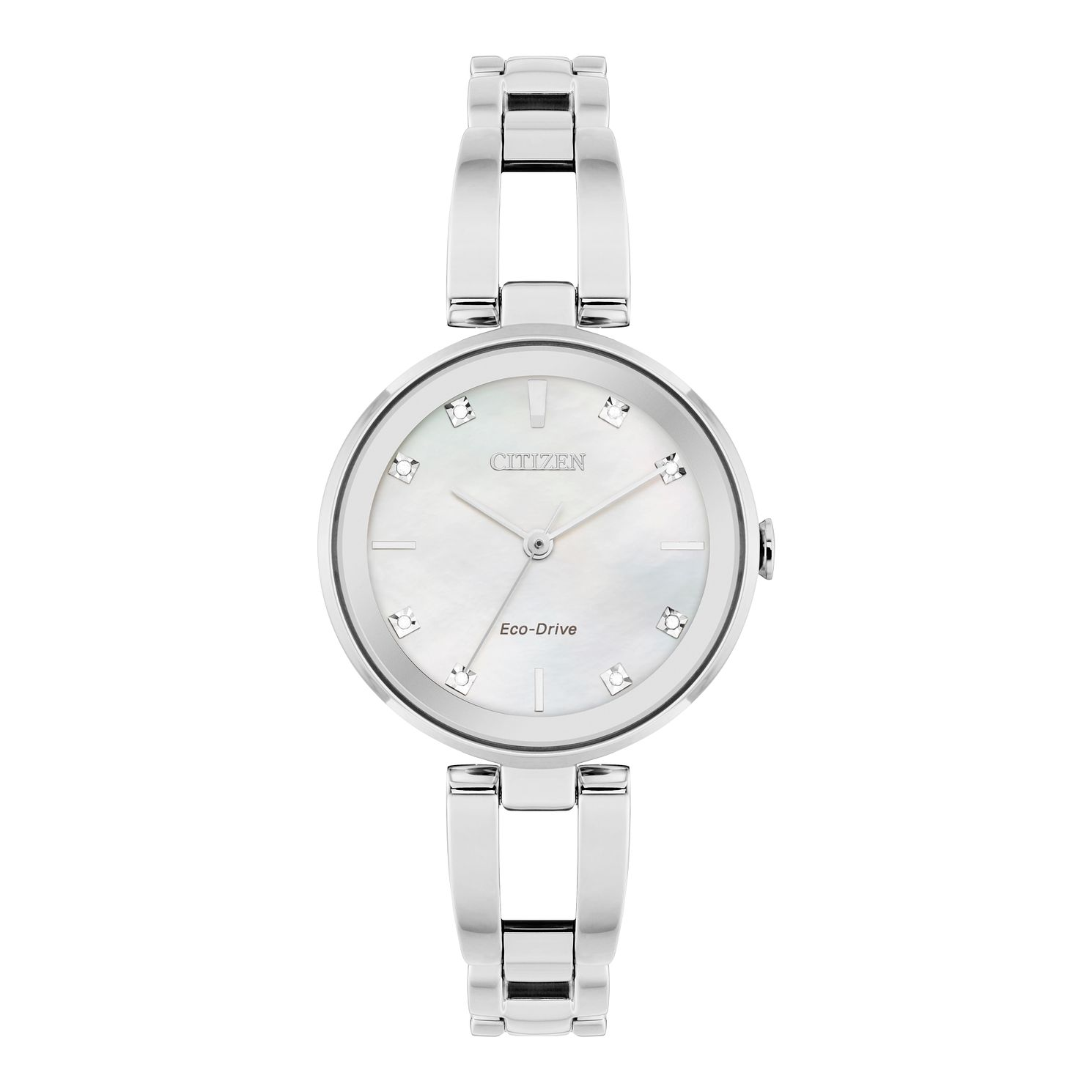 Citizen Axiom Diamond Ladies' Stainless Steel Bracelet Watch - Product number 5282152