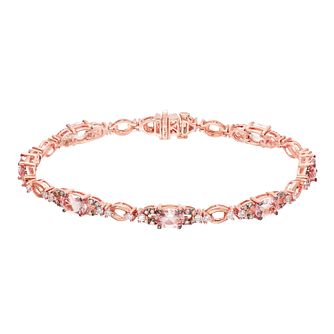 Le Vian 14ct Strawberry Gold Peach Morganite Bracelet - Product number 5289025