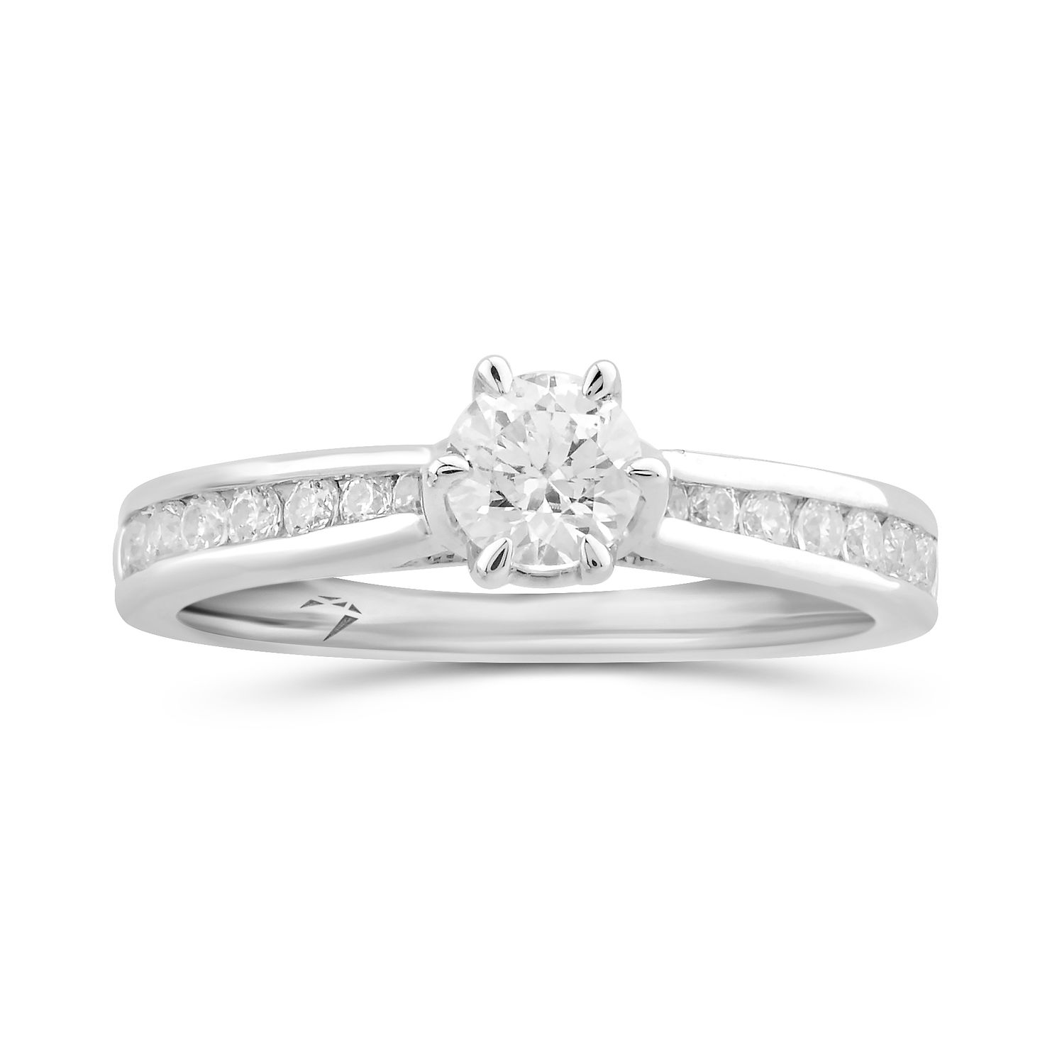 Arctic Light Platinum 0.75ct Total Diamond Solitaire Ring - Product number 5289793