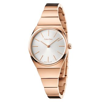 Calvin Klein Supreme Ladies' Rose Gold-Plated Bracelet Watch - Product number 5295556