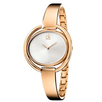 Calvin Klein Impetuous Ladies' Gold-Plated Bracelet Watch - Product number 5295769