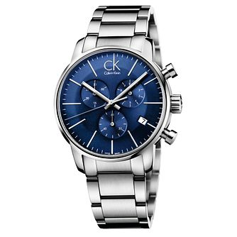 Calvin Klein City Men's Chronograph Steel Bracelet Watch - Product number 5295955