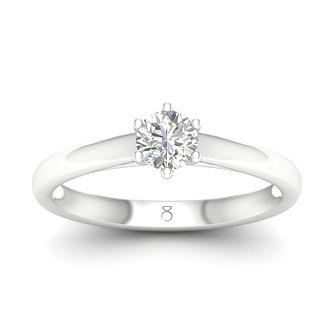 The Diamond Story 18ct White Gold 0.30ct Diamond Ring - Product number 5297583