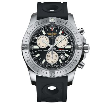 Breitling Colt Men's Chronograph Black Rubber Strap Watch - Product number 5297699