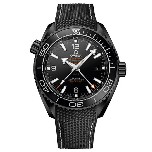 Omega Planet Ocean Deep Black 600m Men's Ceramic Strap Watch - Product number 5297761