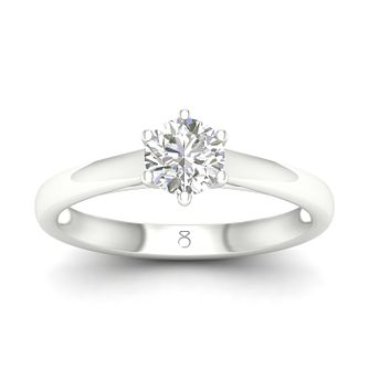 The Diamond Story 18ct White Gold 1/2ct Diamond Ring - Product number 5303389