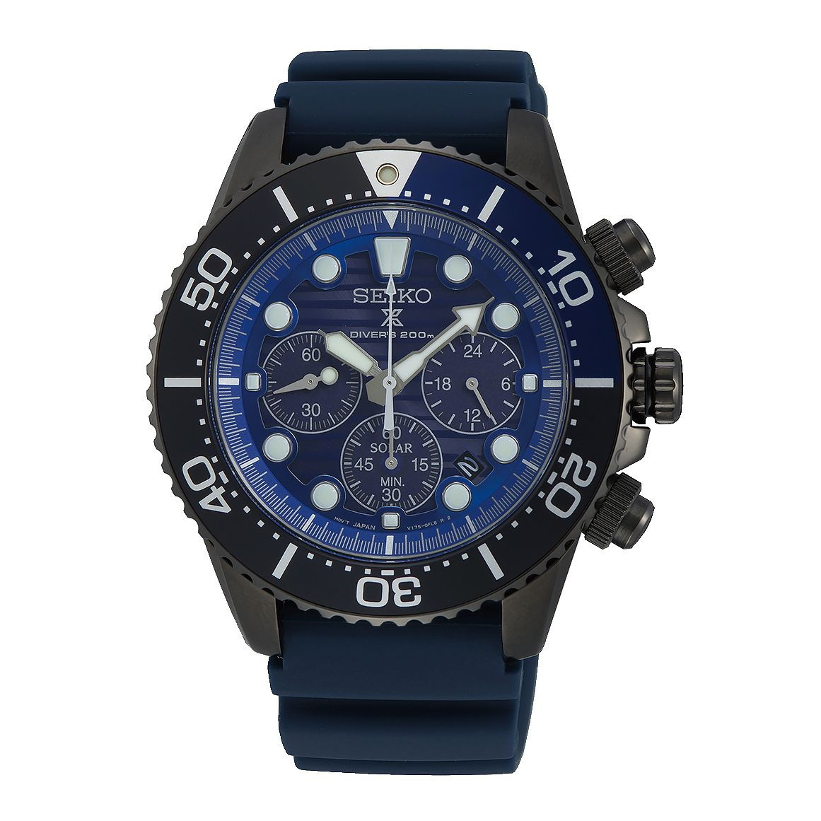 Seiko Prospex Save The Ocean Blue Silicone Strap Watch - Product number 5312892