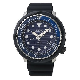Seiko Prospex Save The Ocean Tuna Men's Black Strap Watch - Product number 5312922