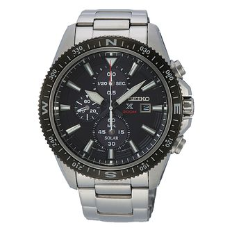Seiko Prospex Land Men's Stainless Steel Bracelet Watch - Product number 5312981