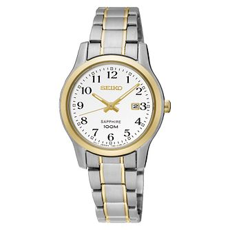 Seiko Classic Ladies' Two Tone Bracelet Watch - Product number 5313066