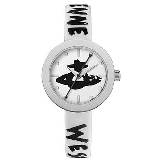 Vivienne Westwood Southbank White Leather Strap Watch - Product number 5313120