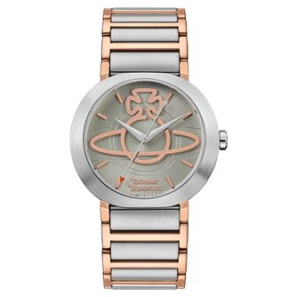 Vivienne Westwood Clerkenwell Two Tone Bracelet Watch - Product number 5313139
