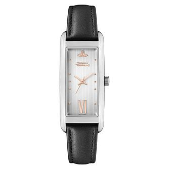 Vivienne Westwood West End Ladies' Black Leather Strap Watch - Product number 5313155
