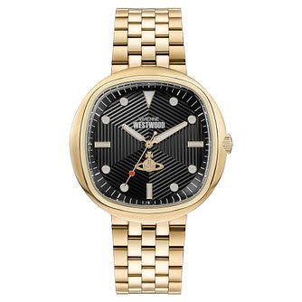 Vivienne Westwood Lexington Men's Gold Tone Bracelet Watch - Product number 5313163