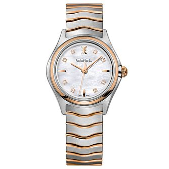 Ebel Wave Ladies' Two Colour Bracelet Watch - Product number 5315395
