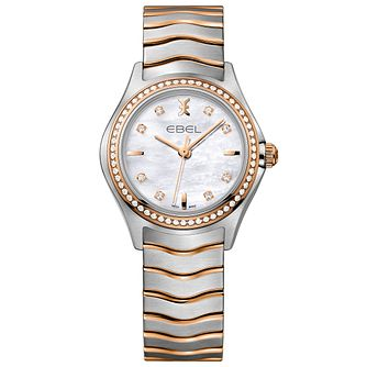 Ebel Wave Ladies' Two Colour Bracelet Watch - Product number 5315409