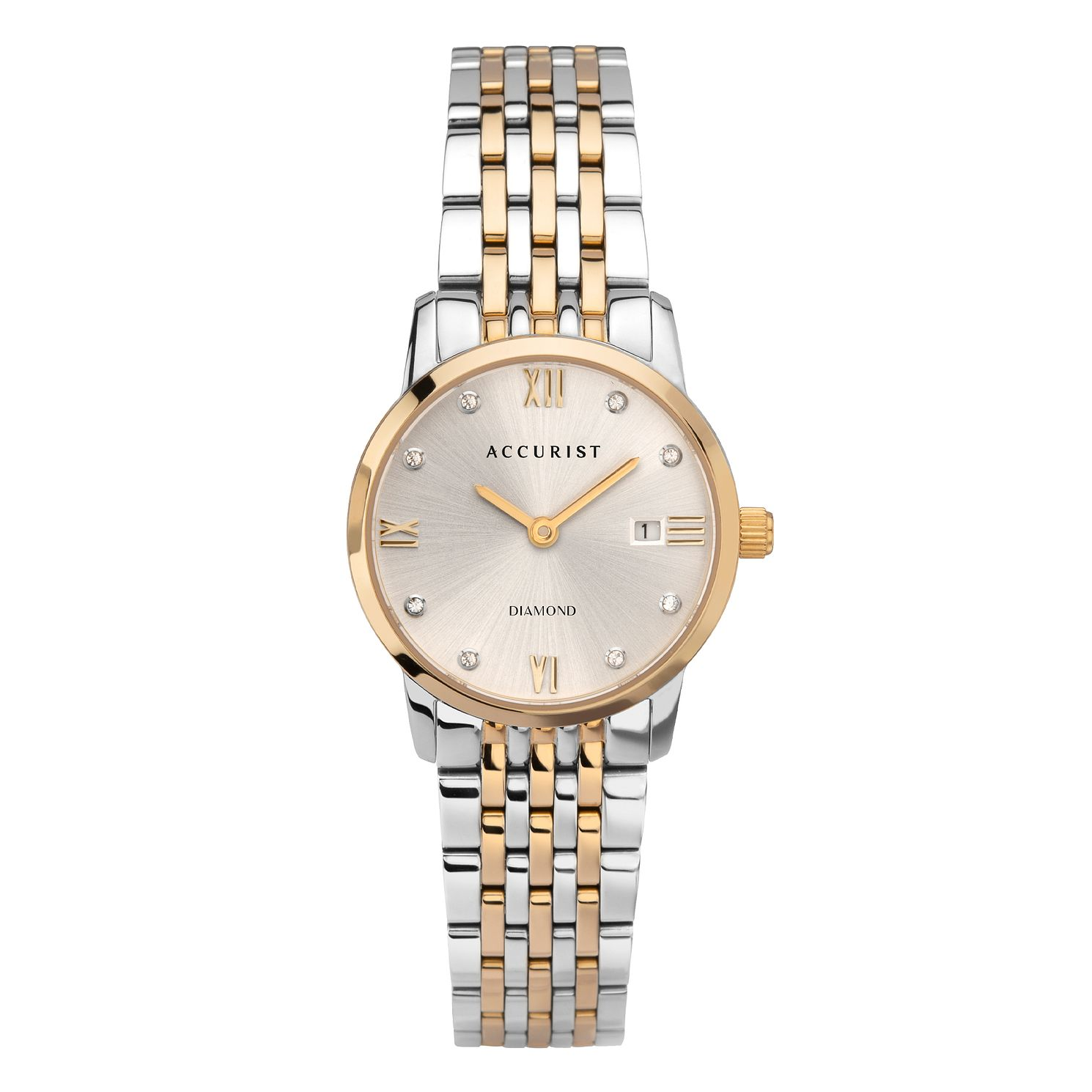 Accurist Signature Diamond Ladies' Two Tone Bracelet Watch - Product number 5316405