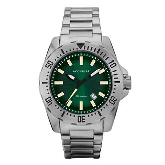 Accurist Divers Style Men's Stainless Steel Bracelet Watch - Product number 5316499