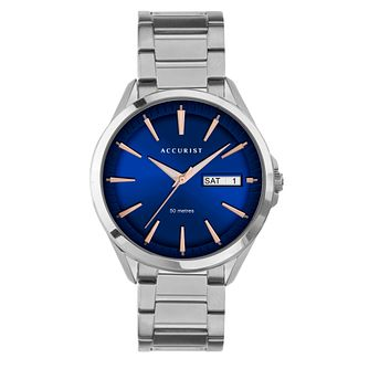 Accurist Contemporary Men's Stainless Steel Bracelet Watch - Product number 5316529