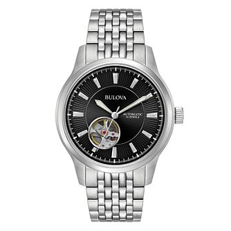 Bulova Men's Automatic Stainless Steel Bracelet Watch - Product number 5316626
