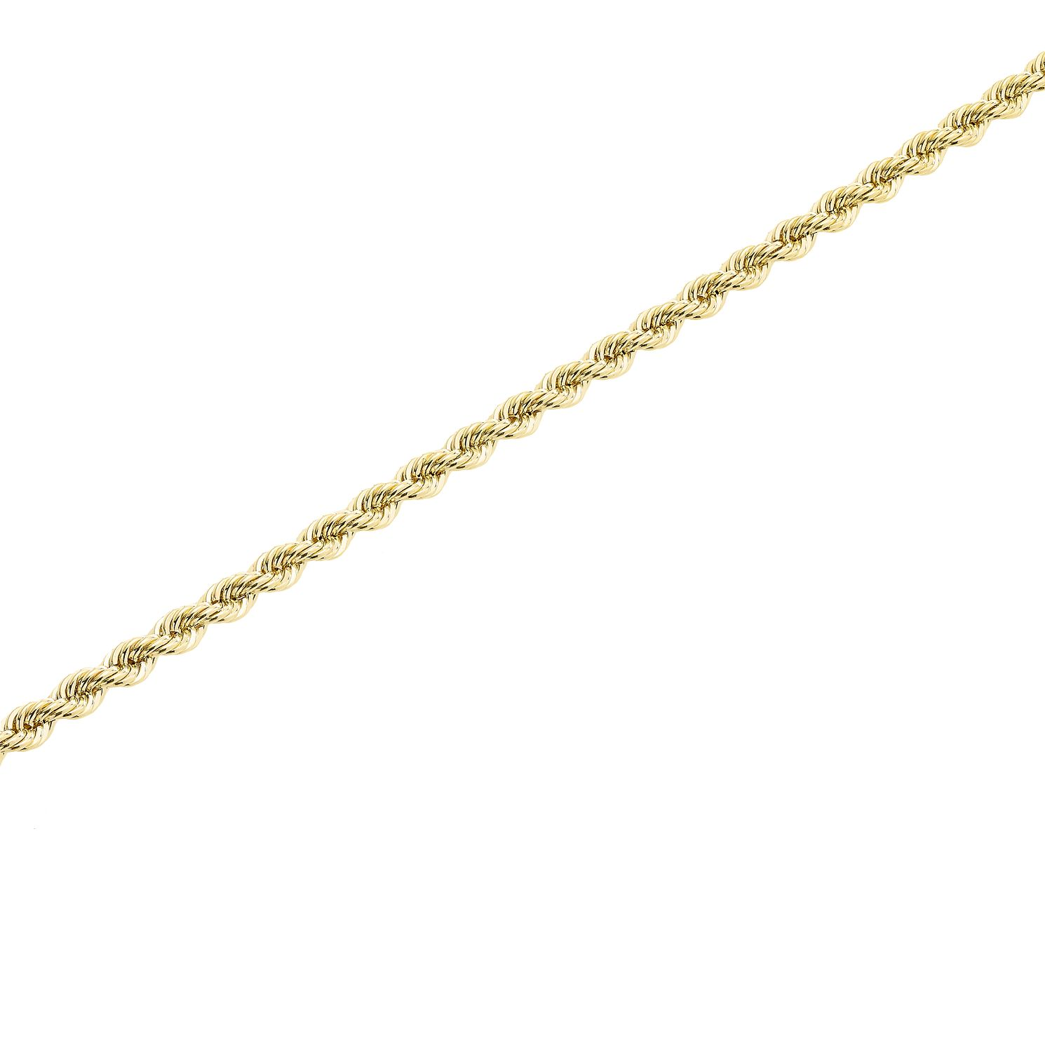 9ct Gold 30 inches Hollow Rope Chain - Product number 5320178