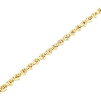 "9ct Gold 26"" Hollow Rope Chain - Product number 5320224"