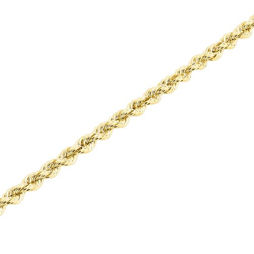 "9ct Gold 30"" Hollow Rope Chain - Product number 5320240"