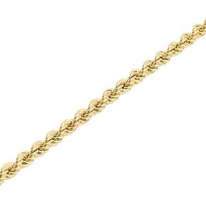 "9ct Gold 30"" Hollow Rope Chain - Product number 5320267"