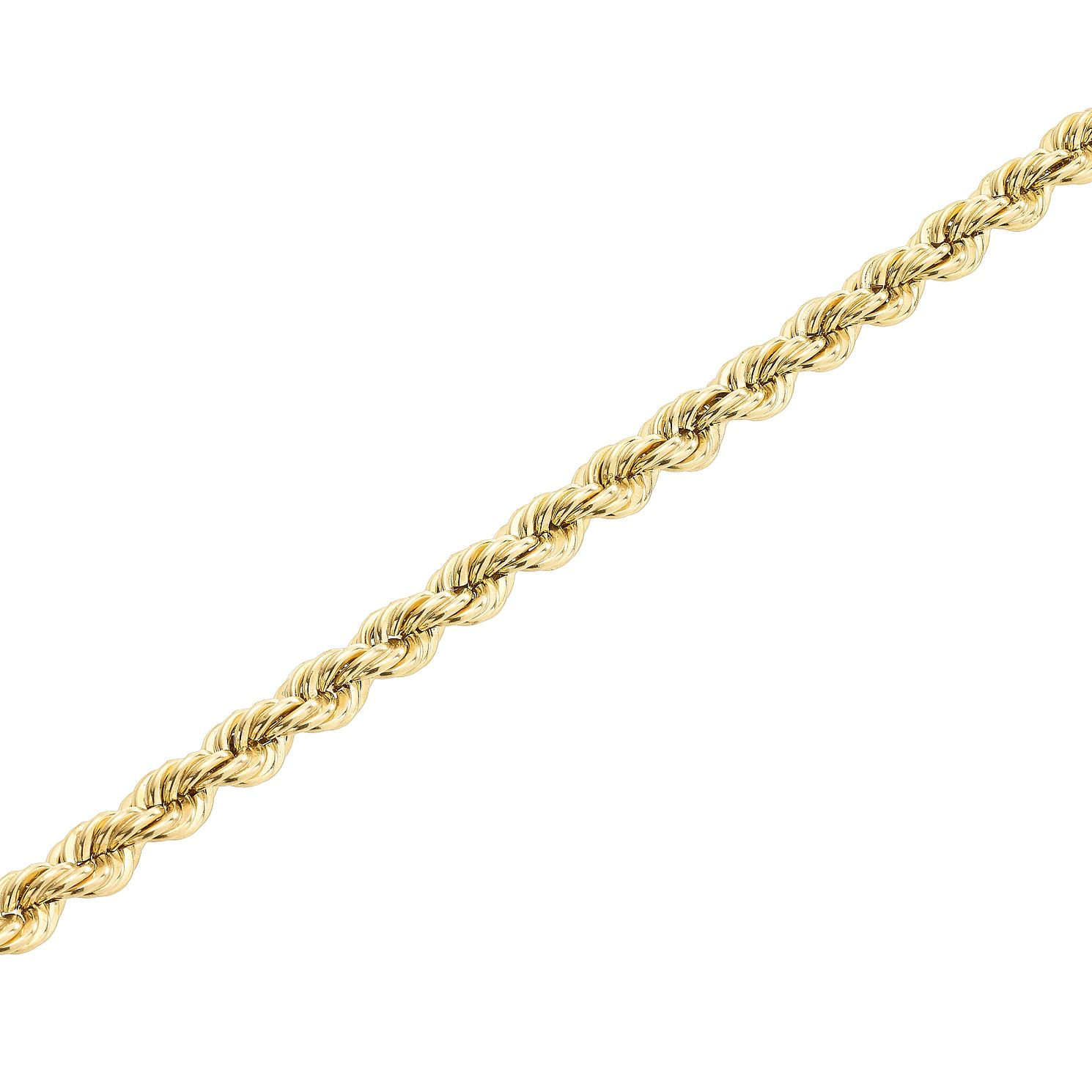 9ct Gold 28 inches Hollow Rope Chain - Product number 5320275