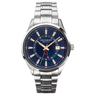 Accurist Men's Stainless Steel Bracelet Watch - Product number 5320410