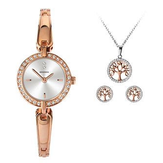 Sekonda Tree Of Life Ladies' Watch & Jewellery Gift Set - Product number 5320496