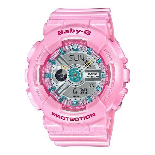 Casio Baby G Ladies' Pink Rubber Strap Watch - Product number 5320550