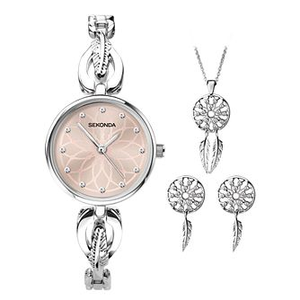 Sekonda Dreamcatcher Ladies' Watch & Jewellery Gift Set - Product number 5320690