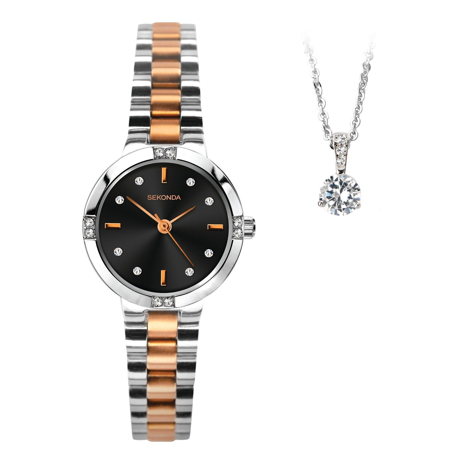 Sekonda Ladies' Two Tone 2 Piece Gift Set - Product number 5320720