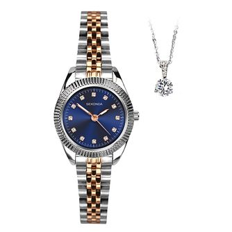 Sekonda Ladies' Two Tone 2 Piece Gift Set - Product number 5320755