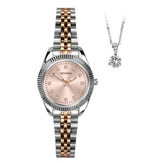 Sekonda Ladies' Two Tone 2 Piece Gift Set - Product number 5320763