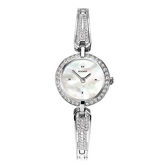 Sekonda Crystal Ladies' Silver Tone Bracelet Watch - Product number 5320844