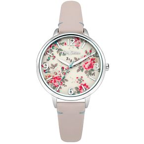 Cath Kidston Ladies' Pink Leather Strap Watch - Product number 5321808